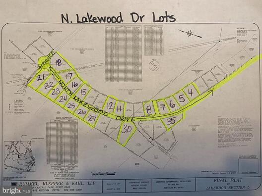 25 LAKEWOOD, RIDGELEY, WV 26753